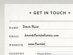designer Dave Ruiz builds beautiful websites.