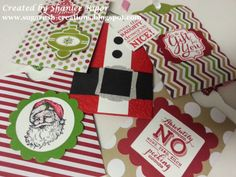 Stampin' Up! Gift Cards created with Two Tags Die