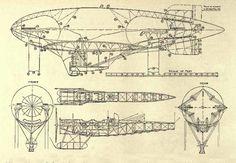 airship schematics - Google Search
