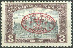 Hungary Romanian Occupation Debrecen 1919, Parliament Mi.# 31a, MH [ref.b