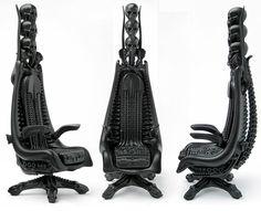 H.R. Giger: Harkonnen Chair – Skull EditionSKULLS More Pins Like This At FOSTERGINGER @ Pinterest