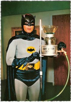 "♡~♡ Batman 1966 1 adam west at his finest "") actually have the 1st batman movie made + evry1 since made n i kno Jack N did bad ass as joker in his day buh fck Heath Ledger rly nailed crzy miss his face!! Birthday Greetings Friend, Deadpool, Erotic, Retro Vintage"