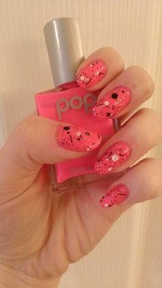 80's inspired nails - Imgur