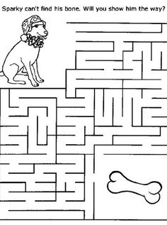 Maze Worksheets for Kids. 20 Maze Worksheets for Kids. Free Printable Mazes and Other Printable Activities for Mazes For Kids Printable, Worksheets For Kids, Printable Worksheets, Kids Mazes, Printable Templates, Kindergarten Worksheets, Free Printables, Maze Puzzles, Word Puzzles