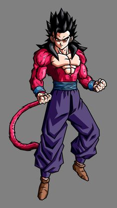 Gohan SSJ4 (Adult GT) by hsvhrt on @DeviantArt