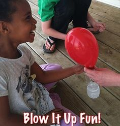 Experience the magic of baking soda and vinegar while blowing up balloons in this simple STEM science experiment. Activities For Adults, Fun Activities For Kids, Science For Kids, Craft Activities, Preschool Science, Teaching Science, Kids Fun, Green Crafts For Kids, Crafts For Kids To Make
