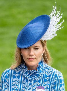 June 20, 2018 in PT | Royal Hats Autumn Phillips, Prince Phillip, Princess Anne, Royal Ascot, British Royals, Silk Flowers, Dress Making, Hats, June
