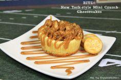 RITZ NY-Style Mini Crumb Cheesecakes @ The Life & Loves of Grumpy's Honeybunch http://www.grumpyshoneybunch.com/2014/01/RitzNYStyleMiniCrumbCheesecake.html#axzz2qo0MtsJw #RITZNYBLITZ #AllstarRitz