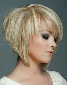 Short-Layered-Bob-Haircuts Stylish and Perfect Layered Bob Hairstyles for Women Layered Haircuts For Women, Layered Bob Hairstyles, 2015 Hairstyles, Trendy Hairstyles, Wedge Hairstyles, Asymmetrical Hairstyles, Ladies Short Hairstyles, Hairstyles For Over 50, Short Choppy Layered Haircuts