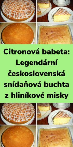 Hamburger, Ale, Cake Recipes, Bakery, Food And Drink, Healthy Recipes, Bread, Cooking, Lemon