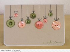 DIY holiday crafts - great idea for teacher holiday cards Handmade Christmas, Christmas Fun, Christmas Decorations, Beautiful Christmas, Christmas Ornaments, Christmas Vacation, Christmas Card Ideas With Kids, Diy Xmas, Christmas Crafts For Adults