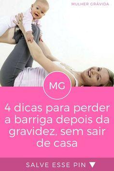 Perder barriga depois da gravidez
