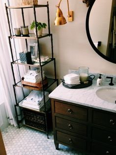 cabinetry & marble top