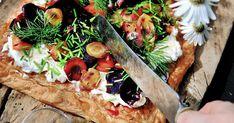 Ny sommarfavorit! Morotsflarn med ostkräm och kummin   Land.se Camembert Cheese, Dairy, Recipes, Food, Frases, Recipies, Essen, Meals, Ripped Recipes