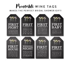 22 Ideas Wedding Gifts For Bridesmaids Baskets Bridal Shower Wine For 2020 Bridal Shower Poems, Bridal Shower Wine, Bridal Showers, Bridesmaid Baskets, Wine Gift Baskets, Basket Gift, Wedding Wine Bottles, Wine Bottle Gift, Wine Tags