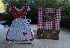 Handwork made of paper Source by Birgitspapierwerk Birthday Diy, Handmade Birthday Cards, Valentine Day Cards, Valentines Diy, October Crafts, Oktoberfest Party, Karten Diy, Shaped Cards, Fancy Fold Cards