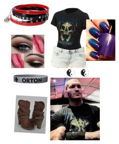 """Ringside with Randy Orton"" by jessiebielke ❤ liked on Polyvore featuring Apex, Venom, Billabong, Not Rated and River Island"