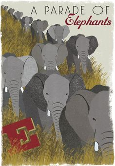 a Parade of Elephants by Woop Studios