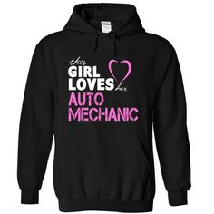 Girl Loves Her AUTO MECHANIC T Shirts, Hoodie. Shopping Online Now ==►…
