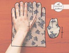 patron pour gants                                                                                                                                                     Plus