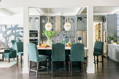 Who won the HGTV Smart Home Sweepstakes? Find out in this article, which covers all of the giveaway winners since the HGTV Smart Home started in Cute Dorm Rooms, Cool Rooms, Home Decor Kitchen, Home Kitchens, Diy Design, Design Ideas, Floor To Ceiling Cabinets, Farmhouse Side Table, Kitchen Pictures