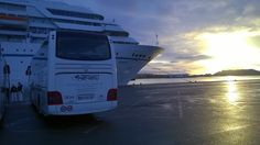Amadea Cruise in Cagliari with Mereu coach bus