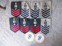 10 DIFF MILITARY PATCHES-LOT 20