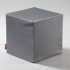 Metallic Cube- let us sit!