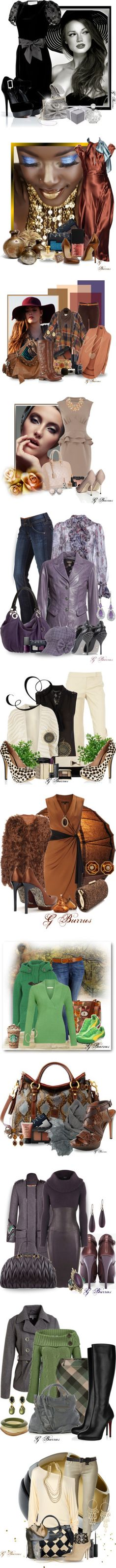 """""""My Top 100+ Sets"""" by gaburrus ❤ liked on Polyvore"""