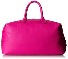 Fossil Preston Weekender Duffle Bag, Hot Pink, One Size