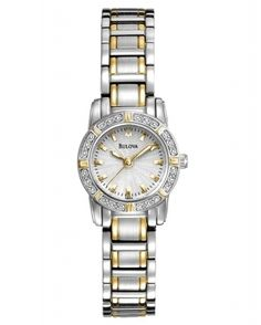 Every diamond is set by hand. Every setting is designed to allow for maximum illumination. The Bulova Highbridge Ladies Watch there's no better way to light up a room.  Get your 48% Off here http://www.authenticwatchstore.com/bulova-98r155-watch-highbridge-ladies-silver-dial.html