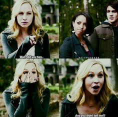 That's Caroline for ya, and we totally love her for it