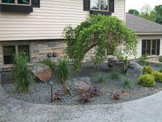 Frontyard Landscape  #landscaping #frontyard #transformation