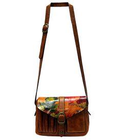 Patricia Nash Multi Praga Flap Cross-Body Bag