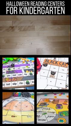 Looking for some spooky reading fun this October?  These Halloween reading centers are perfect for creating an engaging literacy block!  My kids love practicing CVC words, sight words, letter sounds, and short vowel families with these fun games!