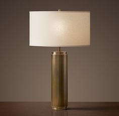 Love this oliver table lamp ballard designs statement for Restoration hardware bedside tables