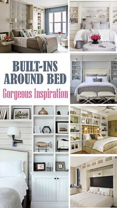 Built Ins Around Bed   Gorgeous Inspiration