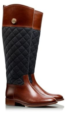 Classic riding boots by Tory Burch  #shopping #gifts #Christmas https://itunes.apple.com/us/app/blisslist-easy-shopping-gifting/id667837070