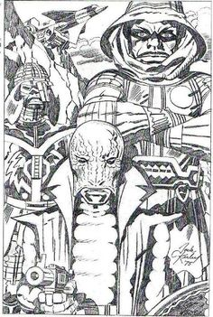 kirbymuseum:  Kobra pencil art by Jack Kirby. possibly part of the presentation. The Kirby Museum and TwoMorrows have very few photocopies or scans of Kobra pencil art, or even un-retouched ink art, so enjoy this rare image. Posted originally by David Lawrence to the Jack Kirby Fan Group on Facebook. If you know of any Kobra art by Kirby or Kirby/Berry, please contact us!  KING.