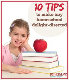 10 Tips to Make Any Homeschool Delight-directed #hstips4moms