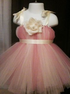flower girl dress - do Black and white tulle with kelly green ribbon