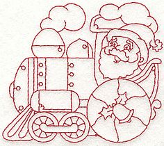 train...the engine & santa