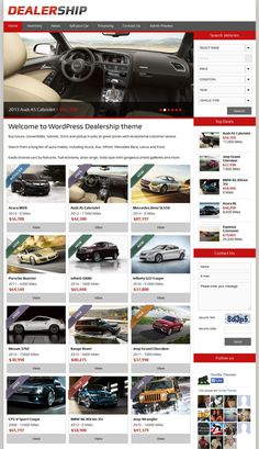 Dealership Responsive WordPress Car Dealer Theme