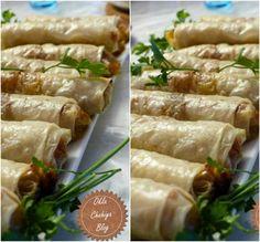 Recette Nems aux Crevettes Bon Film, Fresh Rolls, Asparagus, Quiche, Pizza, Ethnic Recipes, Moroccan Recipes, Vegetables, Food