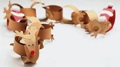 Rudolph paper-chains