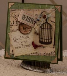 MAR12VSND ~ good luck wishes by JBgreendawn - Cards and Paper Crafts at Splitcoaststampers