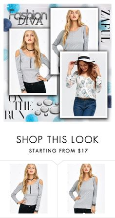 """""""Zaful 11/II"""" by selmica11 ❤ liked on Polyvore"""