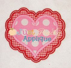 48 Best Valentines Embroidery And Applique Designs Images On