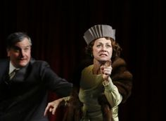 Keith Kupferer and Louise Pitre in Chicago Shakespeare's production of GYPSY.Photo by Liz Lauren.