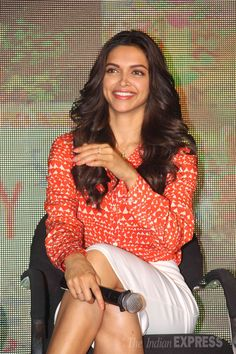 Deepika Padukone at the launch of the song 'shake your bootiya' from Finding Fanny.
